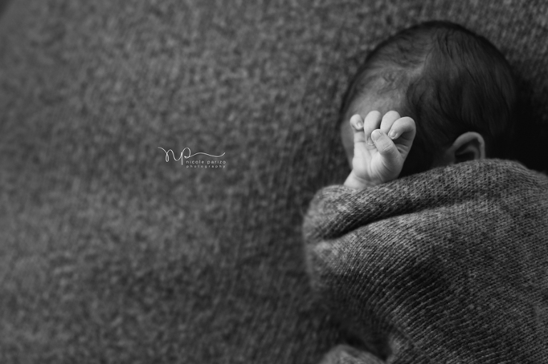 Nicole Parizo Photography | Chicago Newborn Photographer | baby boy